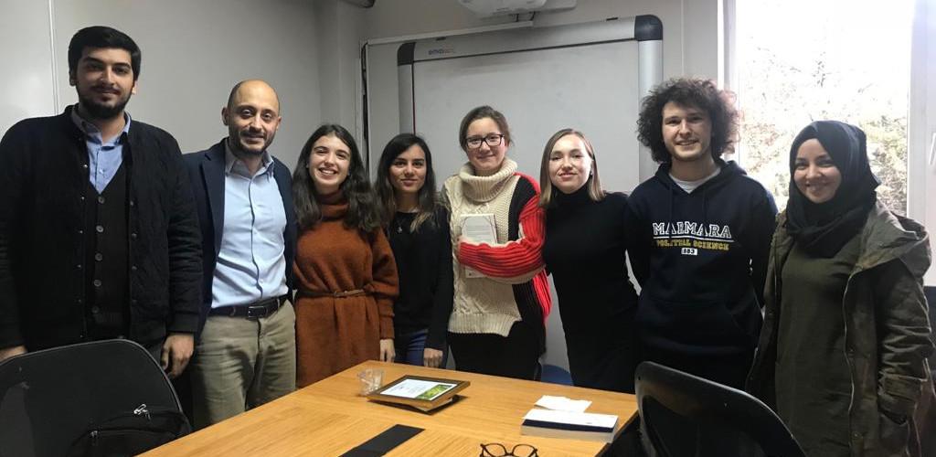 """Behlül Özkan ile """"Türkiye'de Milli Vatanın İnşası' üzerine Sohbet"""